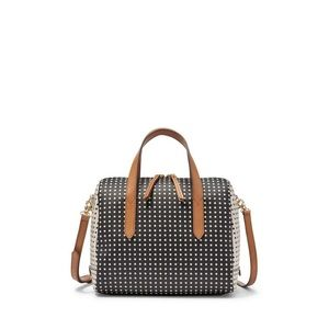 Loved Fossil Sydney Polka Dot Satchel